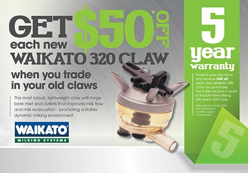 Waikato 320 Claw