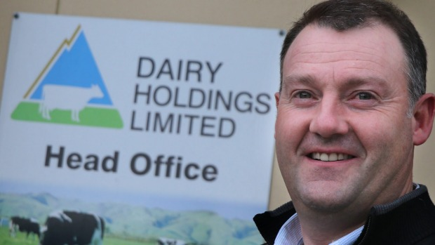 "Colin Glass CEO of Dairy Holdings Ltd.: ""We are just hunkering down and making sure our costs of production are in order."""