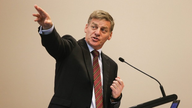 "Finance Minister Bill English says the dairy industry faces a ""perfect storm"" creating an international glut of product."