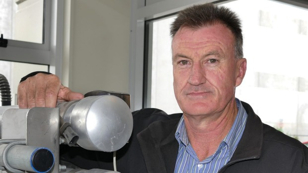Stephen Winter of Nind Dairy Services in Invercargill